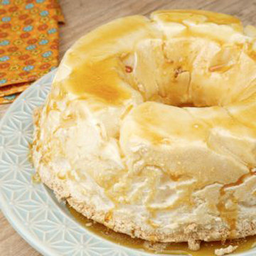 легкий десерт из яичного белка 1