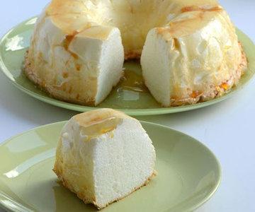 легкий десерт из яичного белка