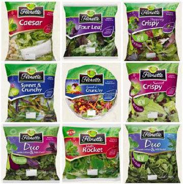 8. Готовый листовой салат