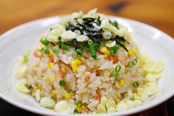 Рис с китайским соусом