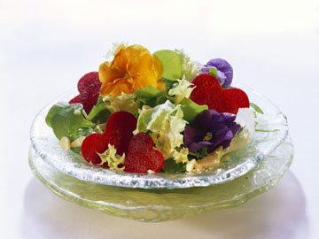 Салат со свекольными сердечками