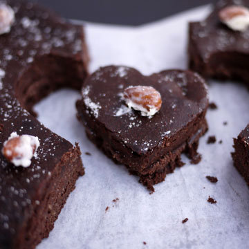 Шоколадный торт на День святого Валентина 1