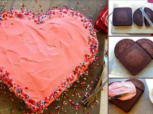 Украшение блюд ко Дню святого Валентина 5