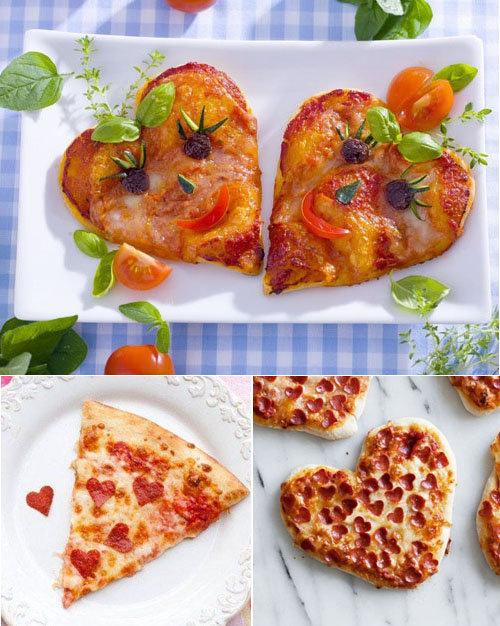 Украшение блюд ко Дню святого Валентина 7
