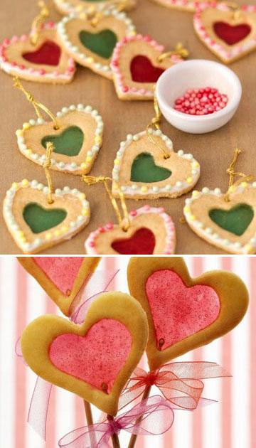 Украшение блюд ко Дню святого Валентина 8