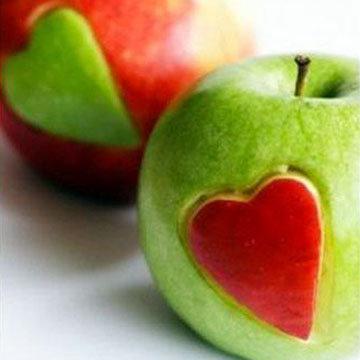 украсить сердцем