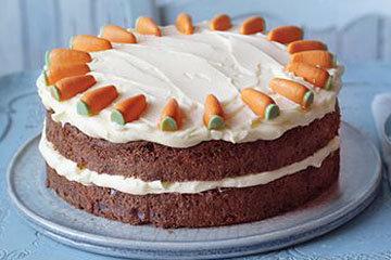 Испечь веганский морковный пирог просто