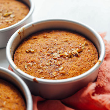 Как приготовить морковный пирог в духовке с растительным маслом 2