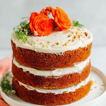 Как приготовить морковный пирог в духовке с растительным маслом 4