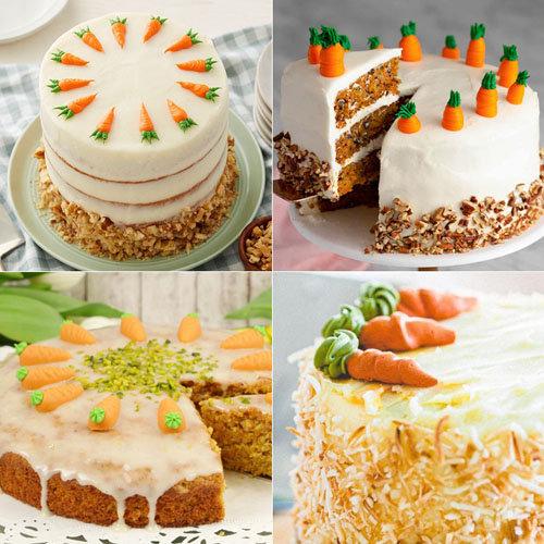 Морковки из марципана