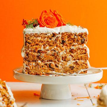 Морковный пирог рецепт ПП 2