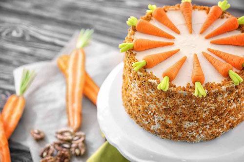 Морковный пирог рецепт простой