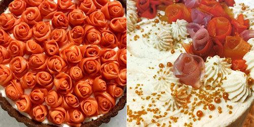Розочки из моркови