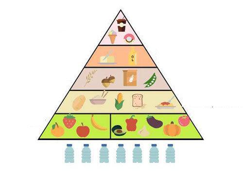 Веганская пищевая пирамида