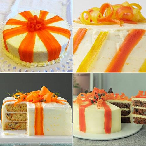 ленточки из моркови