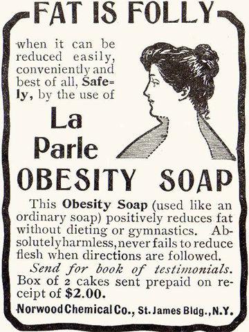 Мыло для похудения