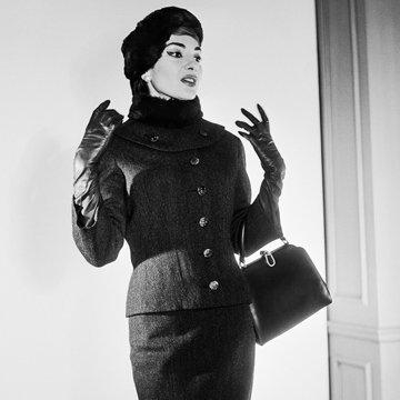 оперная певица Мария Каллас
