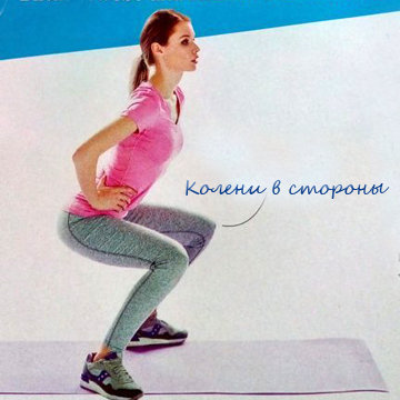 Упражнение для укрепления мышц 1