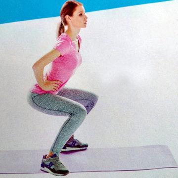 Упражнение для укрепления мышц