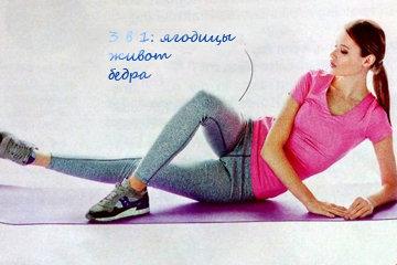 Упражнение от целлюлита на внутренней стороне бедер 1