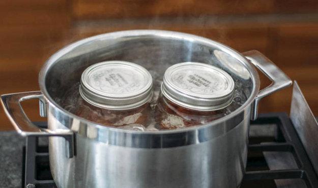 Консервирование: белая фасоль с говядиной