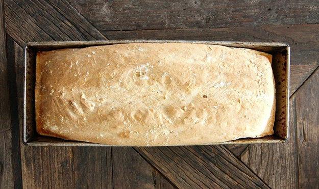 Хлеб из фасоли
