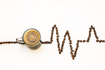 Кофе поднимает кровяное давление