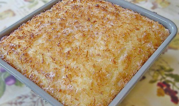 Кокосовый пирог для диабетиков 1