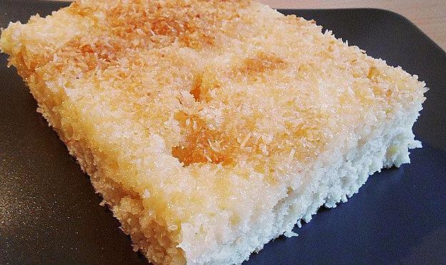 Кокосовый пирог для диабетиков 2