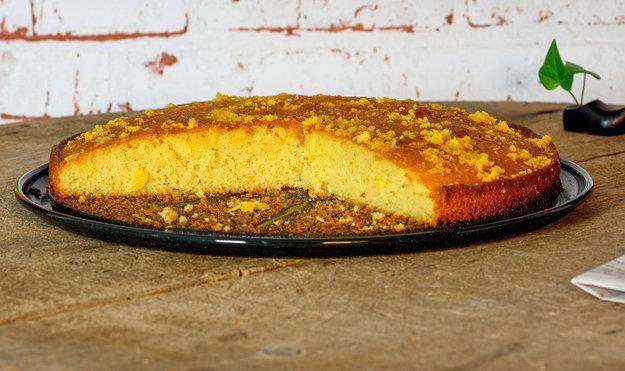 Пирог для диабетиков с апельсинами