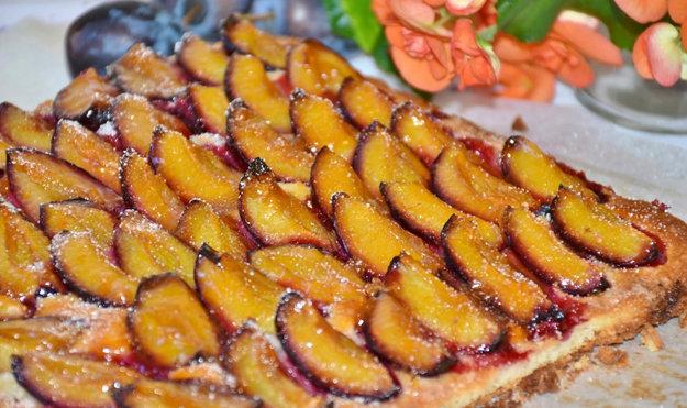 Сливовый пирог для диабетиков