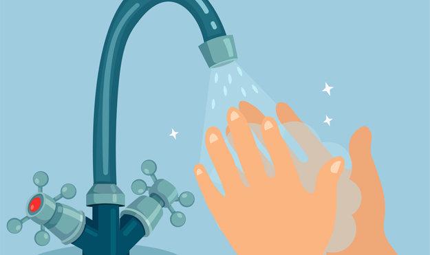 мойте руки с мылом