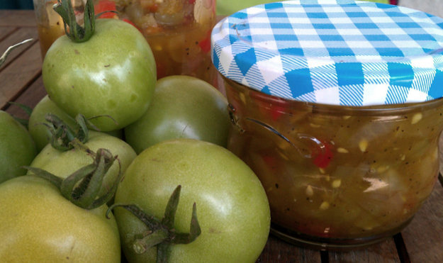 Чатни из зеленых помидоров