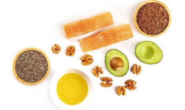 Наличие жирных кислот в пище
