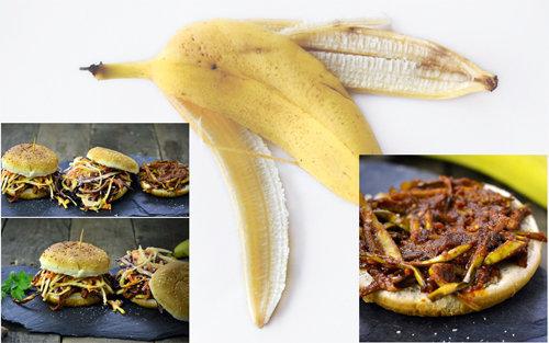 Особый бургер с бананом 1