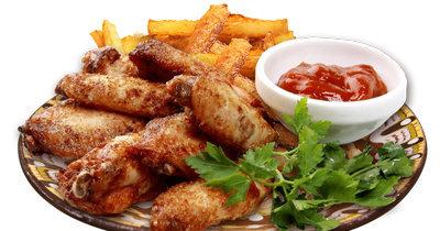 Пищевая ценность куриных крылышек