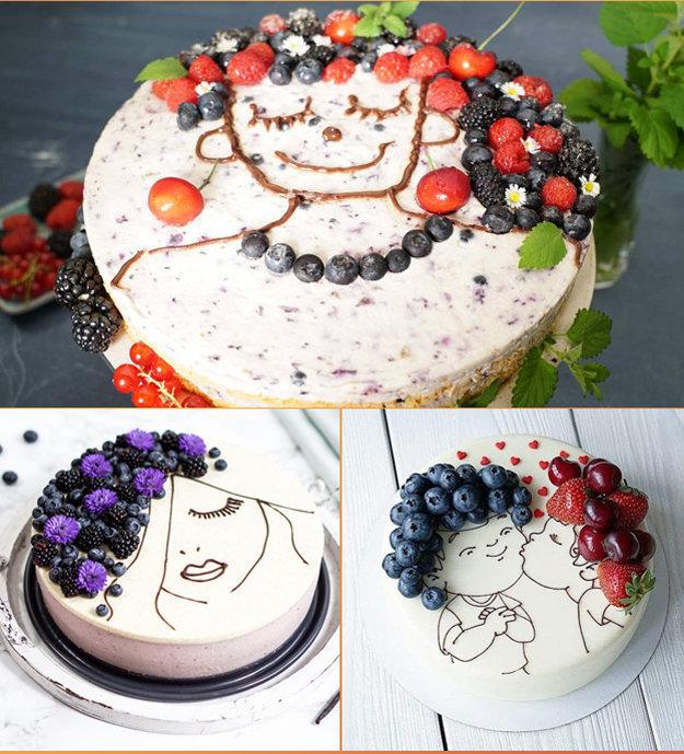 Украсить лучше свежими ягодами и фруктами