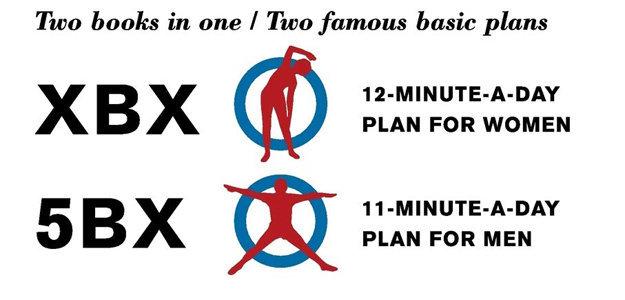 Специалисты RCAF разработали программы: 5BX для мужчин; XBX для женщин