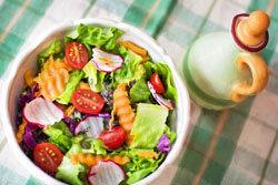 1 кг овощей или салатов (без соли)