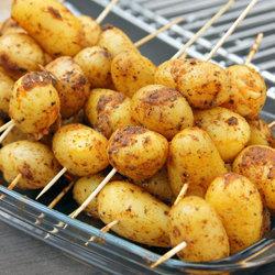 Рецепт Картофельные шашлыки
