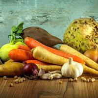 Группа продуктов темно-зеленые