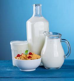 Кальций в молоке и молочных продуктах