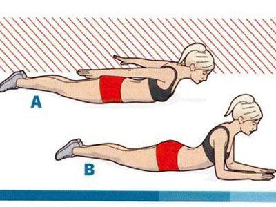 Упражнения для укрепления мышц спины 2a, 2b