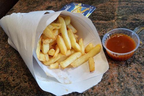 Сколько калорий тратится ч. 3. Картофель фри