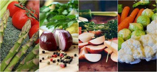 50-70% питания должны составлять овощи