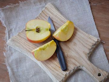 Яблочные ломтики