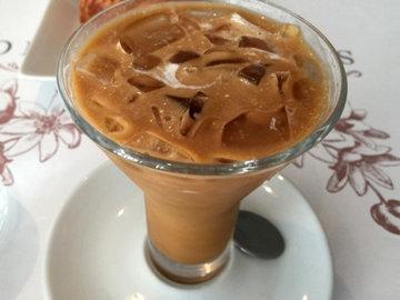Айс кофе с молоком