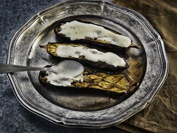 баклажаны, приготовленные на гриле