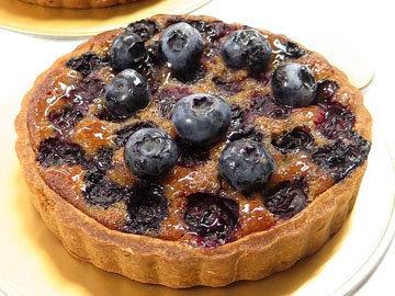 Черничный пирог без сахара, глютена и лактозы
