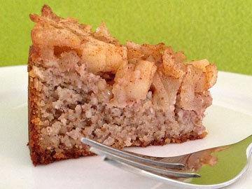 Яблочный пирог без сахара, глютена и лактозы